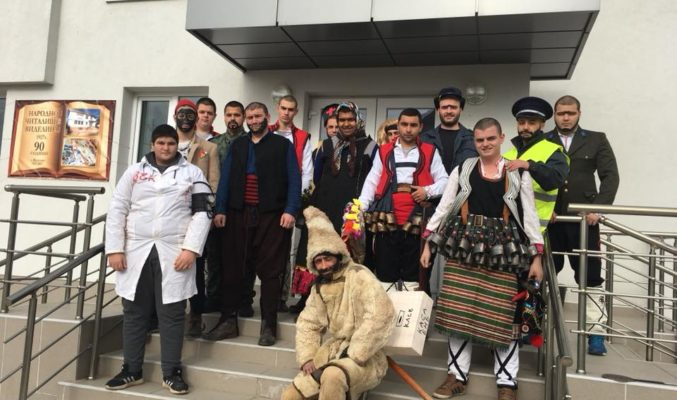 Кукери прогониха злите сили в Община Приморско с традиционен ритуален танц