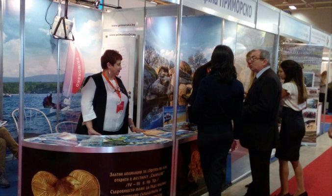 За поредна година морската община взе участие във водещото събитие за туристическата индустрия