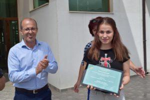 бронзовата медалистка от Европейското първенство по карате Сияна Стратиева